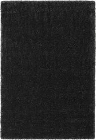 Lotus - Tummanharmaa Matto 200X300 Moderni Musta ( Turkki)