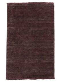 Handloom Fringes - Deep Wine Matto 160X230 Moderni Tummanvioletti/Tummanruskea (Villa, Intia)