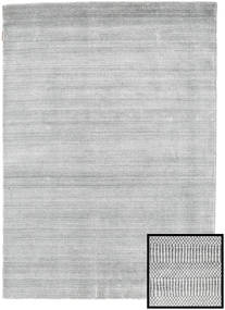 Bamboo Grass - Harmaa Matto 140X200 Moderni Vaaleanharmaa/Valkoinen/Creme (Villa/Bambu Silkki, Turkki)