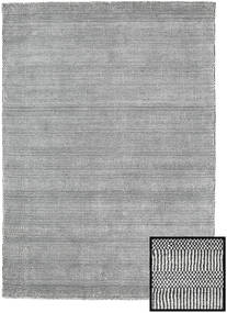 Bamboo Grass - Black_ Harmaa Matto 140X200 Moderni Vaaleanharmaa/Tummanharmaa (Villa/Bambu Silkki, Turkki)
