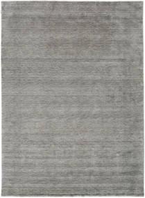 Handloom Gabba - Harmaa Matto 240X340 Moderni Vaaleanharmaa (Villa, Intia)