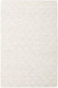 Rut - Ice Grey Melange Matto 200X300 Moderni Käsinkudottu Valkoinen/Creme/Tummanbeige/Beige (Villa, Intia)