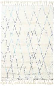 Rana - Natural/Sininen Matto 160X230 Moderni Käsinsolmittu Beige/Valkoinen/Creme (Villa, Intia)