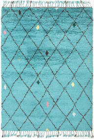 Alta - Turquoise Matto 160X230 Moderni Käsinsolmittu Vaaleansininen/Siniturkoosi (Villa, Intia)