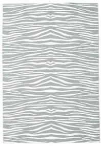 Ulkomatto Zebra - Vihreä Matto 150X210 Moderni Vaaleansininen/Beige ( Ruotsi)