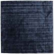 Brooklyn - Keskiyön Sininen Matto 250X250 Moderni Neliö Tummansininen/Sininen Isot ( Intia)