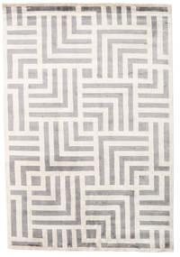 Maze Matto 170X240 Moderni Käsinsolmittu Vaaleanharmaa/Beige ( Intia)