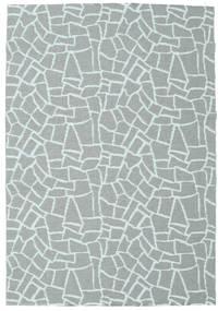 Ulkomatto Terrazzo - Vihreä/Mint Matto 150X210 Moderni Siniturkoosi/Vaaleansininen ( Ruotsi)