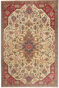 Tabriz Patina Matto 190X280 Itämainen Käsinsolmittu Vaaleanruskea/Tummanbeige (Villa, Persia/Iran)