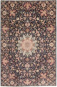 Najafabad Patina Matto 235X360 Itämainen Käsinsolmittu Tummanharmaa/Tummanpunainen (Villa, Persia/Iran)