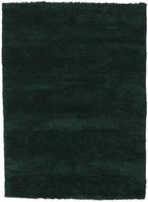 New York - Tummanvihreä Matto 170X240 Moderni Tumma Turkoosi (Villa, Intia)