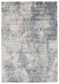 Triad - Harmaa/Sininen Matto 160X230 Moderni Valkoinen/Creme/Vaaleanharmaa/Vaaleansininen ( Turkki)