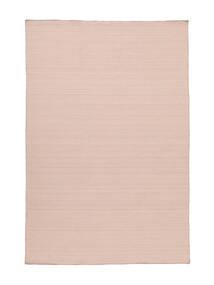 Kelim Loom - Misty Pink Matto 140X200 Moderni Käsinkudottu Vaaleanpunainen (Villa, Intia)