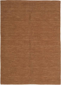 Kelim Loom - Ruskea Matto 160X230 Moderni Käsinkudottu Ruskea (Villa, Intia)