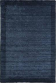 Handloom Frame - Tummansininen Matto 300X400 Moderni Tummansininen/Sininen Isot (Villa, Intia)