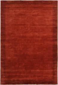 Handloom Frame - Ruoste Matto 300X400 Moderni Ruoste/Punainen Isot (Villa, Intia)