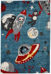 Astronauts Matto 160X230 Moderni Tummansininen ( Turkki)