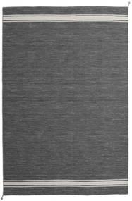Ernst - Tummanharmaa/Vaaleanbeige Matto 200X300 Moderni Käsinkudottu Tummanharmaa/Tummanruskea (Villa, Intia)