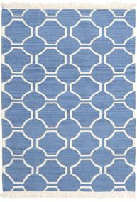 London - Sininen/Valkea Matto 160X230 Moderni Käsinkudottu Sininen/Beige (Villa, Intia)