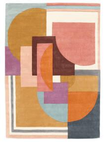 Arty - Multi Matto 160X230 Moderni Oranssi/Tummanbeige (Villa, Intia)