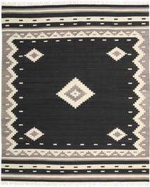 Tribal - Musta Matto 250X300 Moderni Käsinkudottu Musta/Vaaleanharmaa Isot (Villa, Intia)