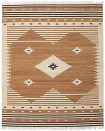 Tribal - Mustard Matto 250X300 Moderni Käsinkudottu Ruskea/Beige Isot (Villa, Intia)