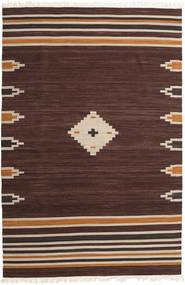 Tribal - Ruskea Matto 200X300 Moderni Käsinkudottu Tummanruskea (Villa, Intia)