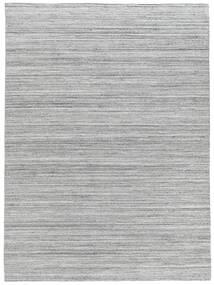 Ulkomatto Petra - Light_Mix Matto 140X200 Moderni Käsinkudottu Vaaleanharmaa/Valkoinen/Creme ( Intia)