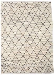Kelim Ariana Matto 185X255 Moderni Käsinkudottu Vaaleanharmaa/Beige (Villa, Afganistan)