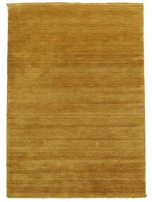 Handloom Fringes - Keltainen Matto 140X200 Moderni Vaaleanruskea/Keltainen (Villa, Intia)