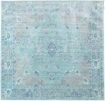 Maharani - Sininen Matto 200X200 Moderni Neliö Vaaleansininen/Siniturkoosi ( Turkki)