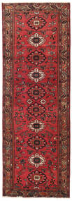 Hamadan Patina Matto 108X318 Itämainen Käsinsolmittu Käytävämatto Tummanpunainen/Punainen (Villa, Persia/Iran)