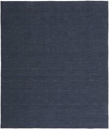 Kelim Loom - Denim Sininen Matto 200X250 Moderni Käsinkudottu Tummansininen/Sininen (Villa, Intia)