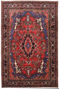 Mehraban Matto 205X316 Itämainen Käsinsolmittu Tummanpunainen/Musta (Villa, Persia/Iran)