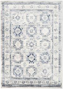 Menara Everyday - Harmaa/Sininen Matto 160X230 Moderni Vaaleanharmaa/Valkoinen/Creme ( Turkki)