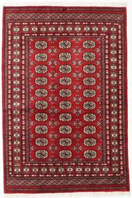 Pakistan Bokhara 2Ply Matto 125X185 Itämainen Käsinsolmittu Tummanpunainen (Villa, Pakistan)