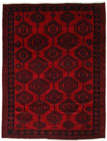 Lori Matto 205X265 Itämainen Käsinsolmittu Tummanpunainen (Villa, Persia/Iran)