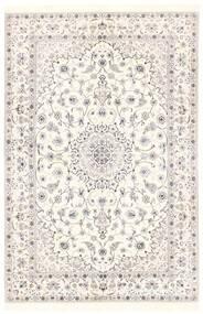 Nain 6La Matto 151X228 Itämainen Käsinkudottu Beige/Vaaleanharmaa (Villa/Silkki, Persia/Iran)