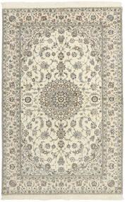 Nain 6La Matto 154X240 Itämainen Käsinkudottu Beige/Vaaleanharmaa (Villa/Silkki, Persia/Iran)