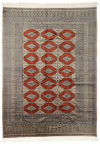 Pakistan Bokhara 2Ply Matto 192X255 Itämainen Käsinsolmittu Vaaleanharmaa/Tummanharmaa (Villa, Pakistan)