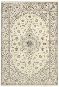 Nain 6La Matto 151X230 Itämainen Käsinkudottu Beige/Vaaleanharmaa (Villa/Silkki, Persia/Iran)