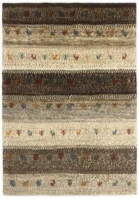 Gabbeh Persia Matto 126X185 Moderni Käsinkudottu Tummanruskea/Vaaleanruskea (Villa, Persia/Iran)