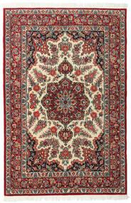 Ghom Kork/Silkki Matto 117X179 Itämainen Käsinsolmittu Tummanpunainen/Tummanruskea (Villa/Silkki, Persia/Iran)