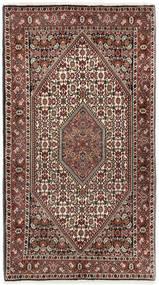 Bidjar Matto 94X167 Itämainen Käsinsolmittu Tummanruskea/Vaaleanruskea (Villa, Persia/Iran)