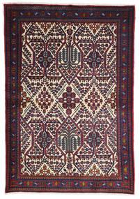 Meimeh Matto 110X160 Itämainen Käsinsolmittu Tummanpunainen/Musta (Villa, Persia/Iran)