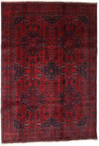 Afghan Khal Mohammadi Matto 199X289 Itämainen Käsinsolmittu Tummanpunainen (Villa, Afganistan)