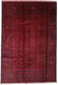 Afghan Khal Mohammadi Matto 197X289 Itämainen Käsinsolmittu Tummanpunainen (Villa, Afganistan)