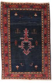 Gabbeh Kashkooli Matto 104X160 Moderni Käsinsolmittu Musta/Tummanpunainen (Villa, Persia/Iran)