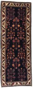 Gabbeh Kashkooli Matto 82X223 Moderni Käsinsolmittu Käytävämatto Tummanruskea/Tummanpunainen (Villa, Persia/Iran)