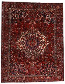Bakhtiar Matto 277X356 Itämainen Käsinsolmittu Tummanpunainen/Tummanruskea Isot (Villa, Persia/Iran)